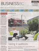 Patricia Gray discusses outdoor living in the Vancouver Sun July 2015